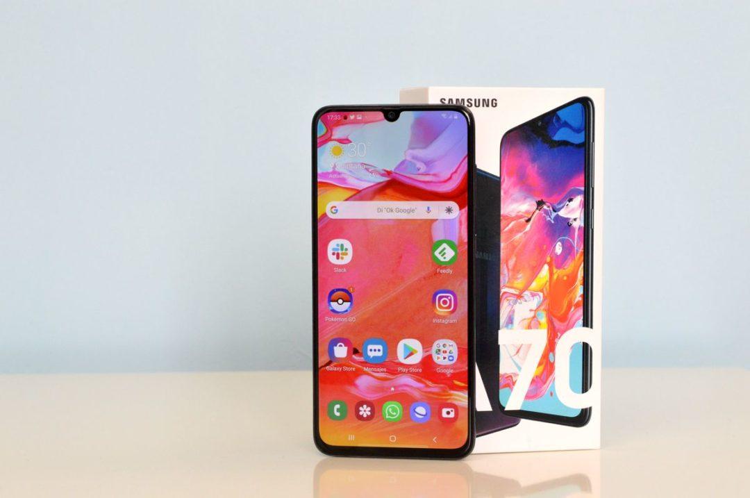 Cómo forzar el reinicio y el apagado del Samsung Galaxy A70