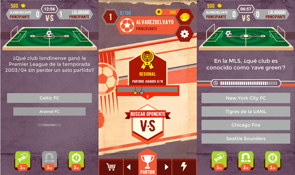 Show everything you know about football with Trivia League