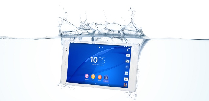 Xperia Z3 Tablet compact water