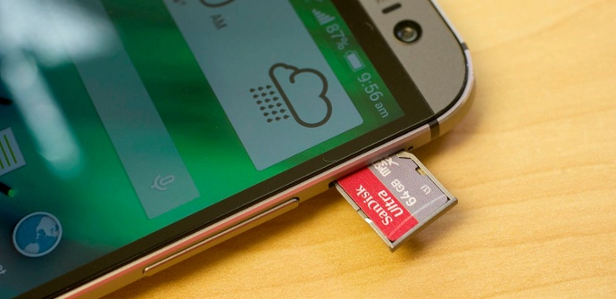 HTC One M8 Android L Micro SD