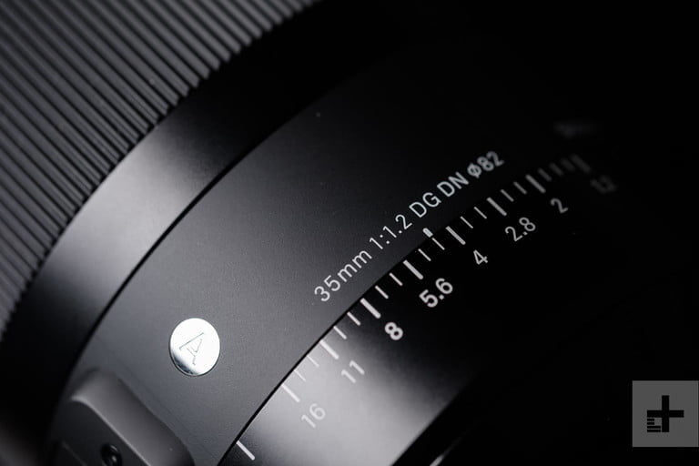what is the depth of field sigma 35mm f12 detail aperture ring dm 768x768