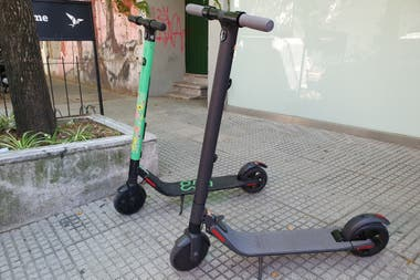 The Segway Ninebot ES1 model served as the basis for the rental skateboard park available in Buenos Aires since May of this year