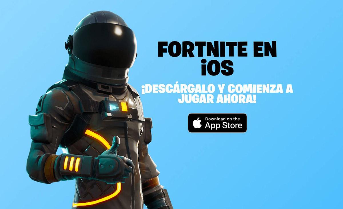 Fortnite on iOS