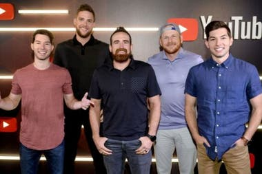 Dude Perfect, created by five friends, is the second channel with more earnings of 2019