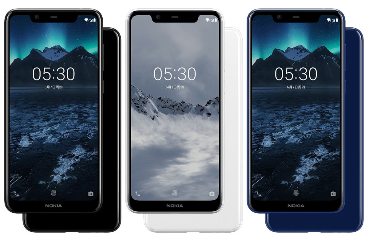 Nokia X5: notch, dual camera and the new MediaTek Helio P60