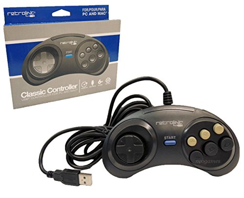 retro-bit-pc-7017 USB controller with 6 buttons width =