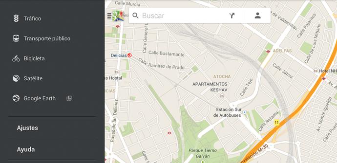 Google Maps holo