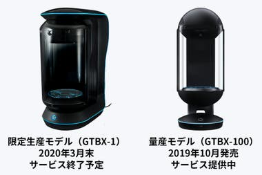 The first edition, called GTBX-1, will stop working in May 2020 and will be replaced by the GTBX-100 model, which will be available free of charge to Kondo and users of the first generation of holograms