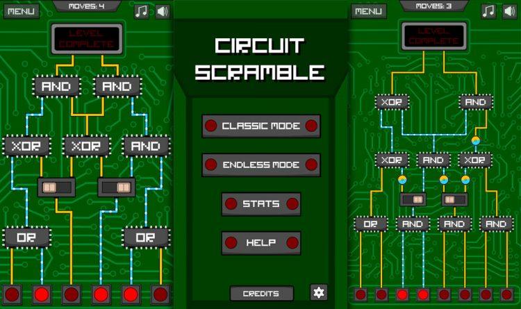 Circuit scramble