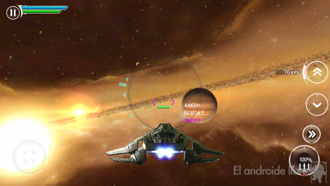 Conquer the universe in the space simulator Stellar Wanderer