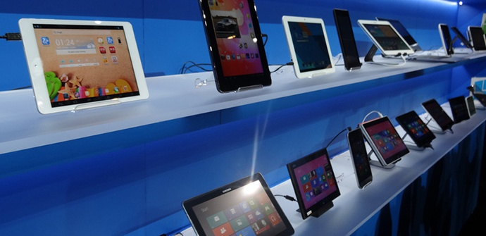 Tablets showcase
