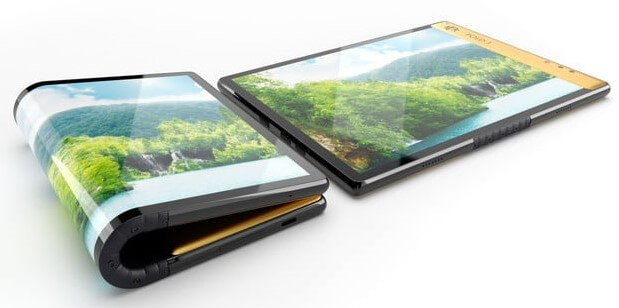 Image - Escobar Fold 1, the amazing flexible phone of the brother of the
