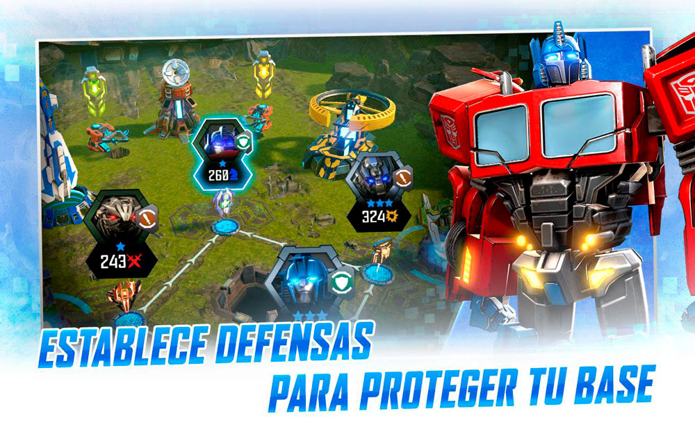 Transformers: Fighters, intense robotic fighting