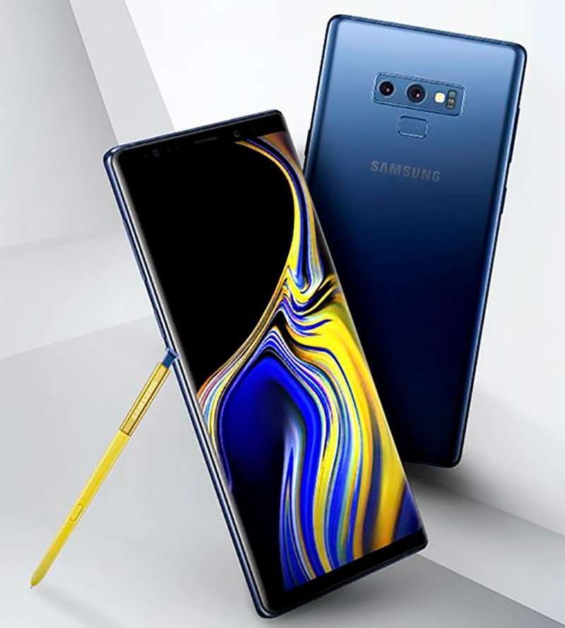 First unboxing of Samsung Galaxy Note 9 on video