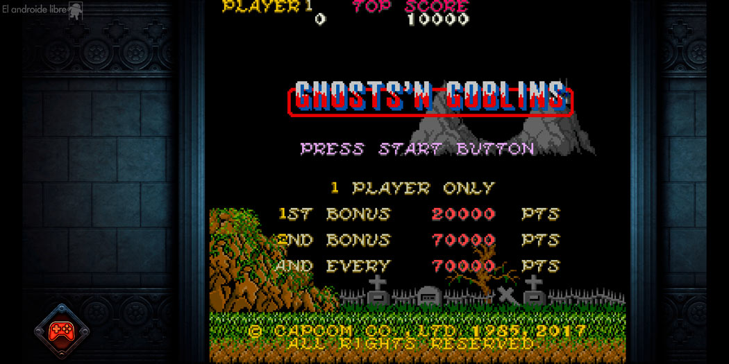 The mythical game Ghosts'n Goblins comes to Android to revive your childhood