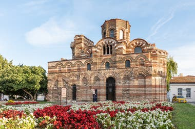 The church of St. Pantokrator in Nessebar, Bulgaria