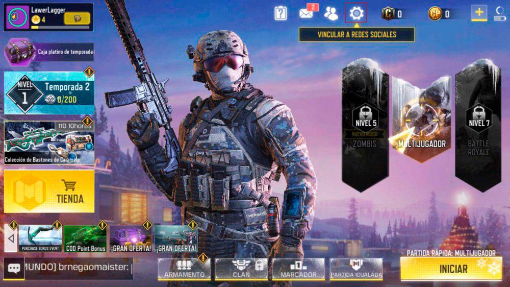 Call of duty mobile gyroscope