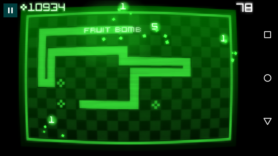 The creator of the original Snake has also created a Snake for Android