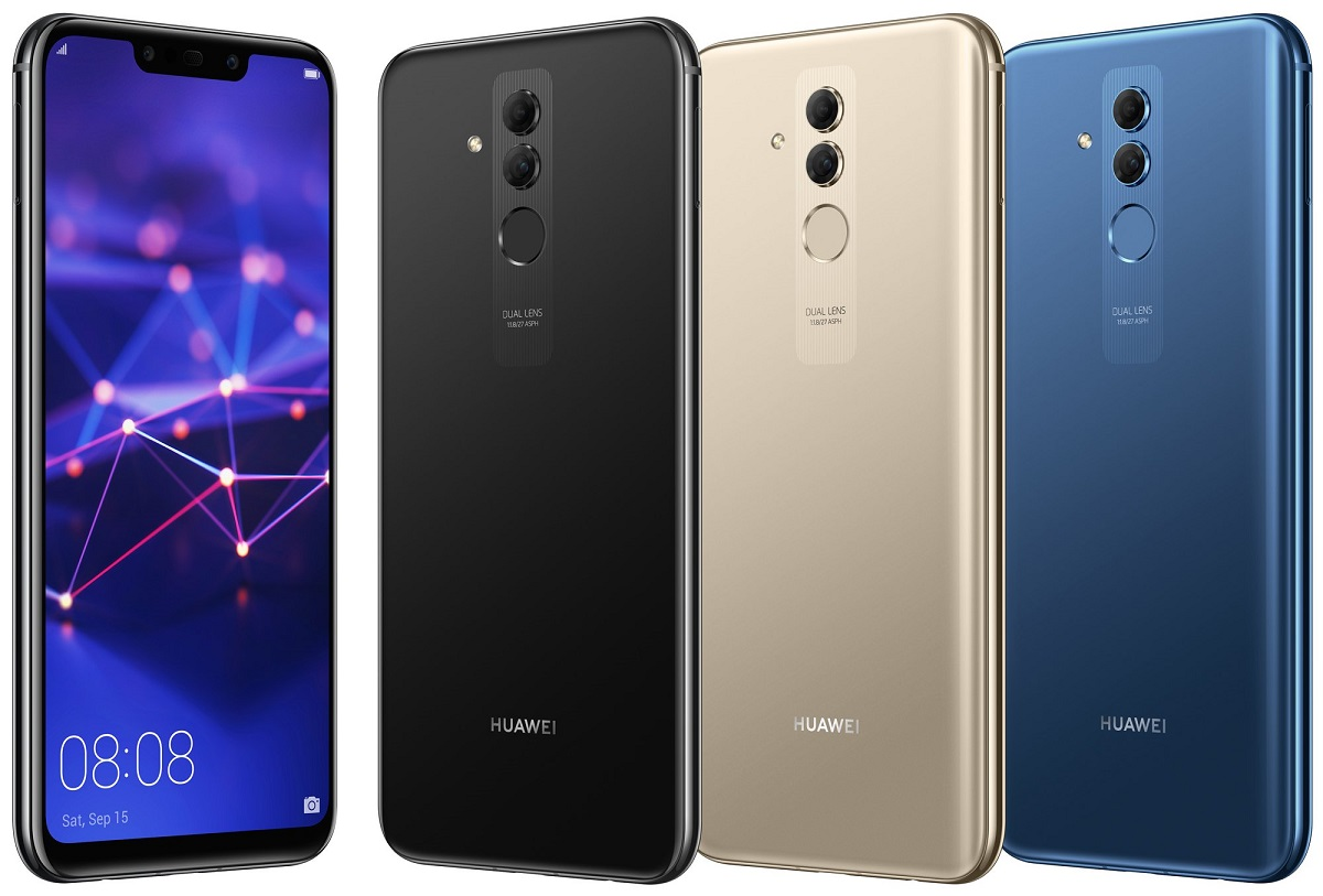 New images of the Huawei Mate 20 Lite confirm its design