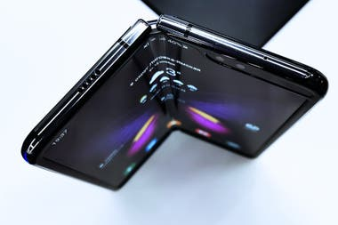 The Samsung Galaxy Fold is the first foldable screen phone model to go on sale, followed by the Huawei Mate X and the Motorola Razr