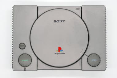 A view of the first PlayStation