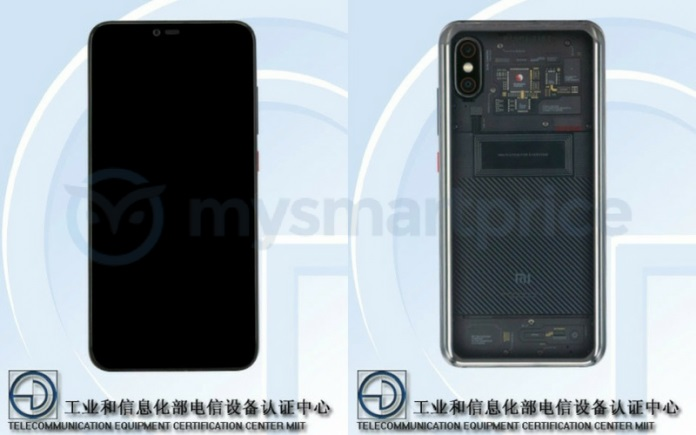 The Xiaomi Mi Note 4 is passed by TENAA and adopts the identity sign of the Xiaomi Mi 8 Explorer Edition