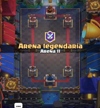 Legendary Arena Clash Royale