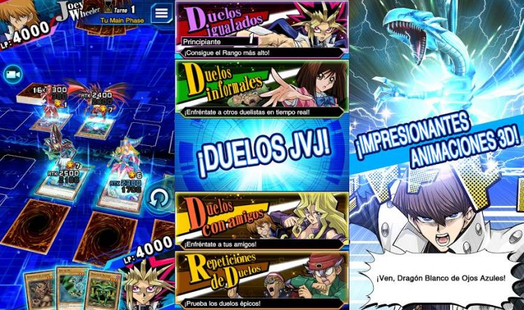The game you expected from Yu-Gi-Oh! get to Google Play