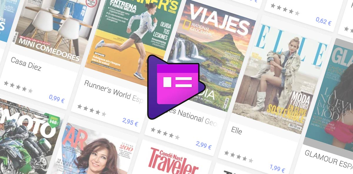 Google Play Newsstand disappears and you can no longer read magazines in Spain