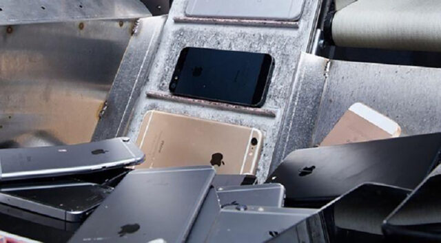 iPhone recycle parts