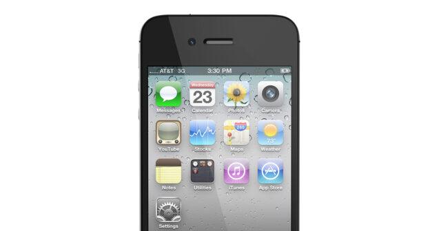iPhone 4 ios 4