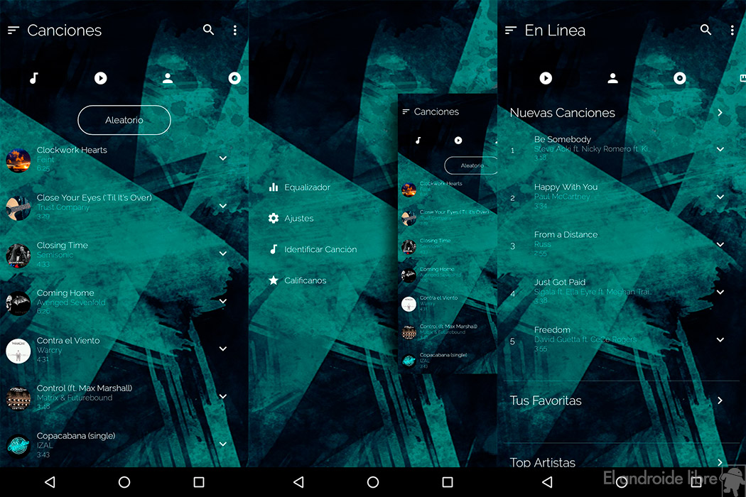 This is the most beautiful Android music player ever made