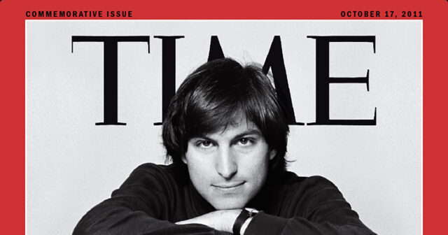 Time steve jobs magazine