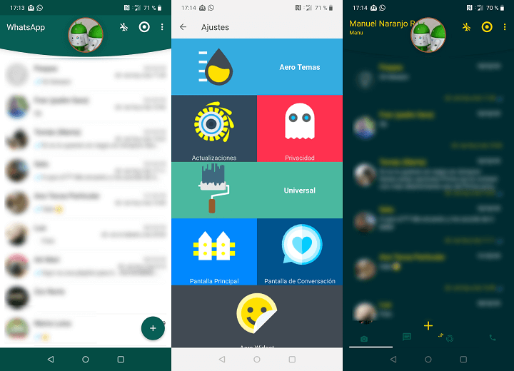 Image - WhatsApp Aero, an app version with an improved design