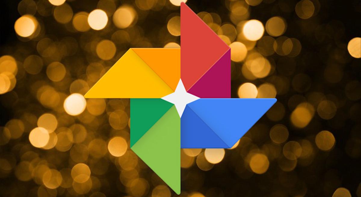 Google photos blur background