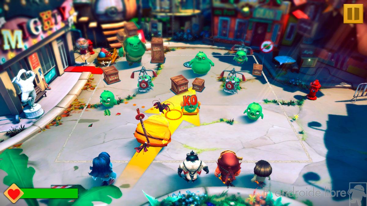 The saga evolves with Angry Birds Evolution