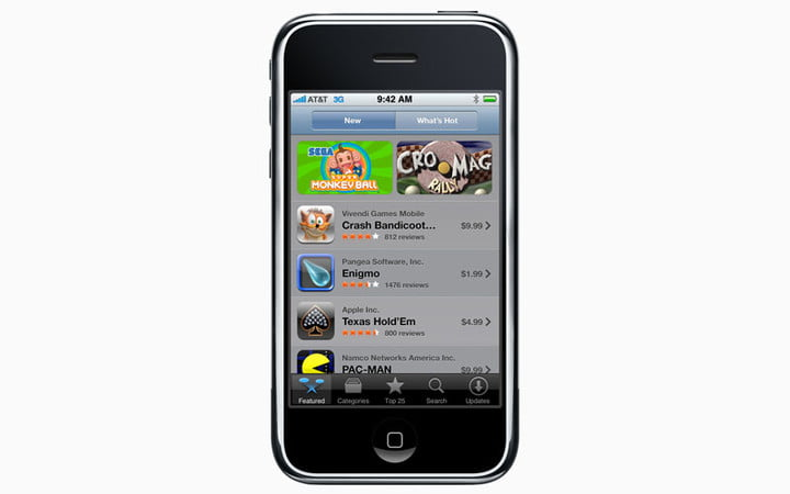 Feature cell phones makes a decade iphone 3g network