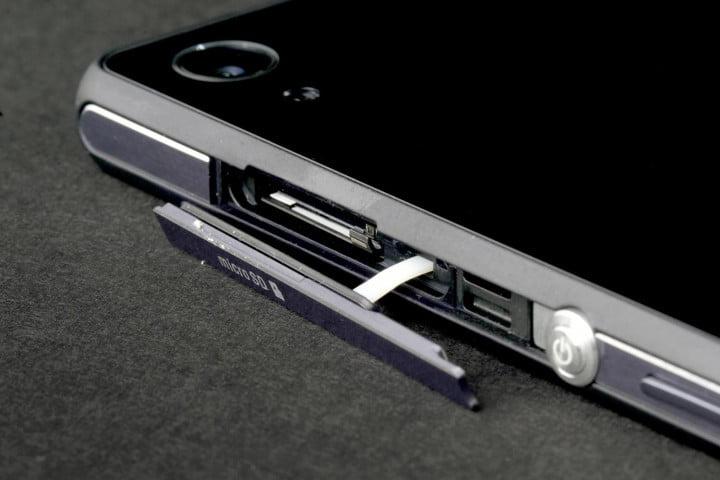 Features phones makes a decade xperia z3v microsd