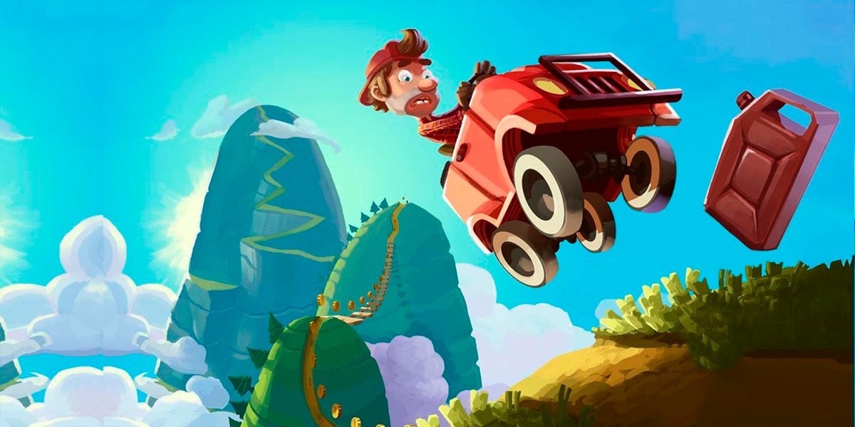 """Hill Climb Racing Android """"width ="""" 1200 """"height ="""" 600"""
