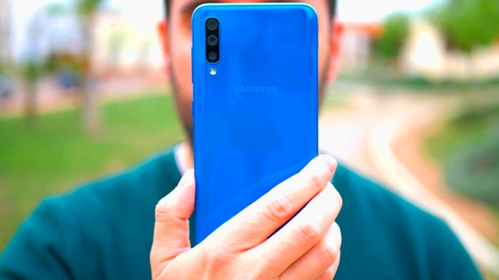 Rear View of the Samsung Galaxy A50
