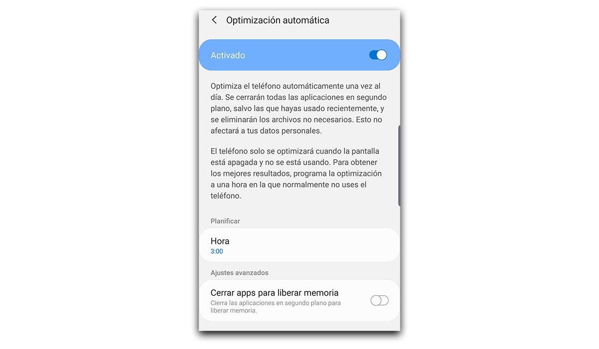 Automatic optimization