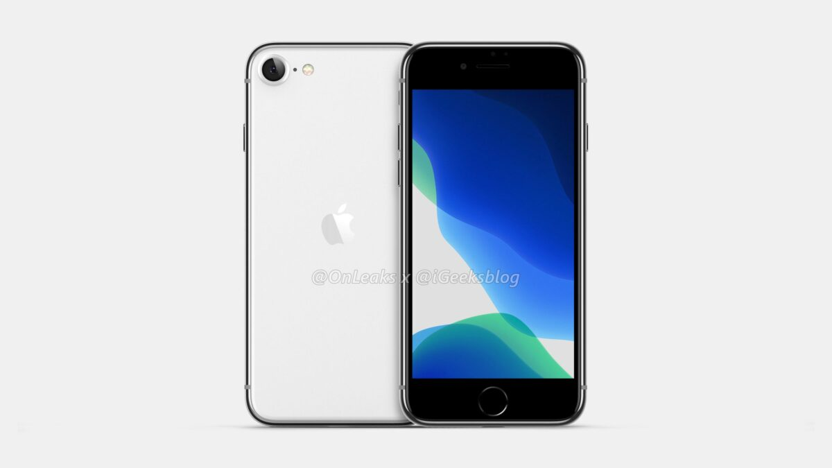 iPhone SE2 render