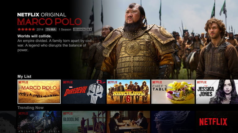 Netflix offers Dolby Vision