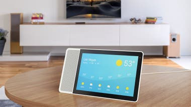 The Lenovo Smart Display is available in two sizes: 8 and 10 inches