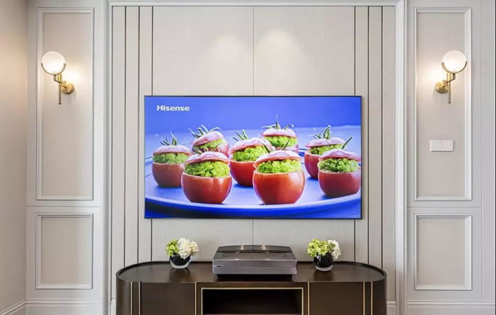 Hisense TV in the living room