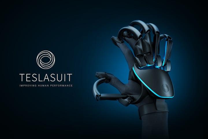 teslasuit presents glove glove rv feat