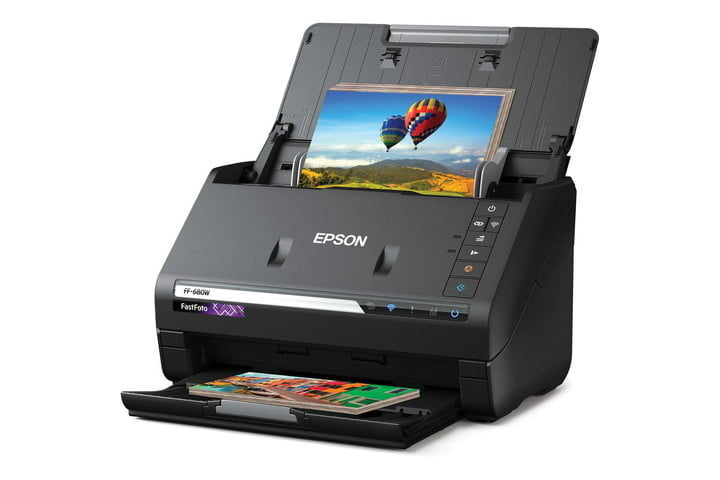 Epson FastFoto FF-680W, one of the best scanners