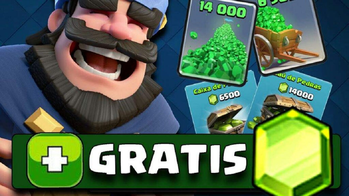 """With these tricks you can earn free gems in Clash Royale """"width ="""" 1200 """"height ="""" 675"""