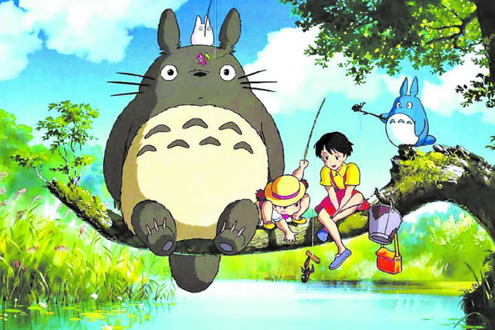 Frame of the film My Neighbor Totoro