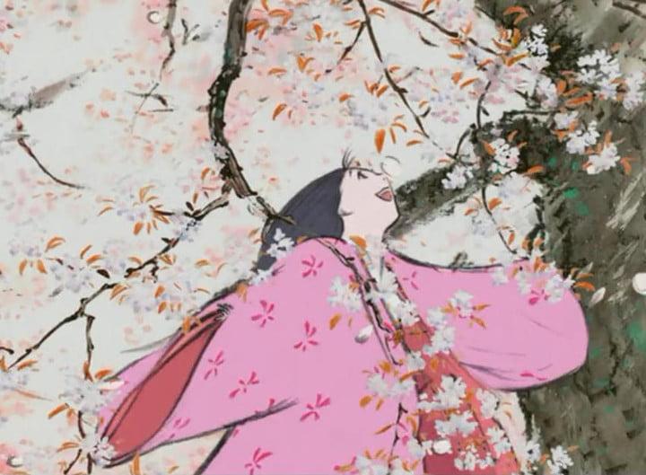 Frame of the film The story of Princess Kaguya